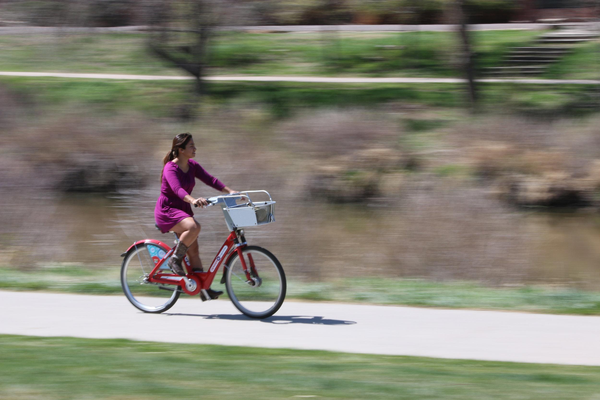 Girl on Bike, 2016