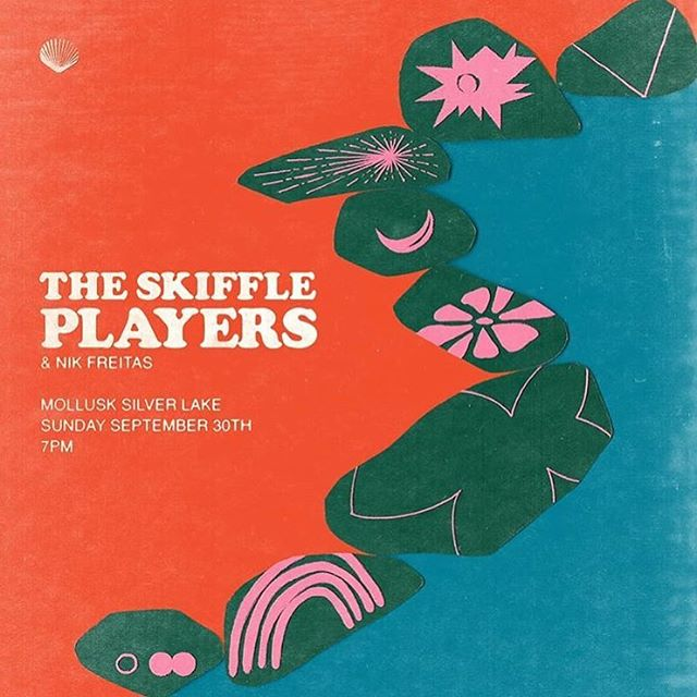 Stoked to play drums with @nikohlasfreitas opening for @theskiffleplayers at @mollusksurfshop_silverlake tomorrow night!! 7pm FREE!