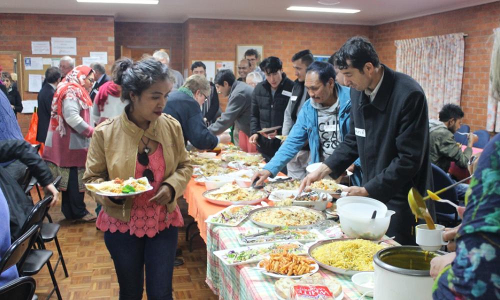 Refugee Week Dinner - 21 June 2018 held at Senior Citizens Centre, Griffith