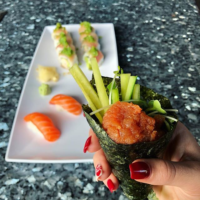 Grab your friends it's ALL YOU CAN EAT night at Riptide Rockin' Sushi & Teppan grills 🥢