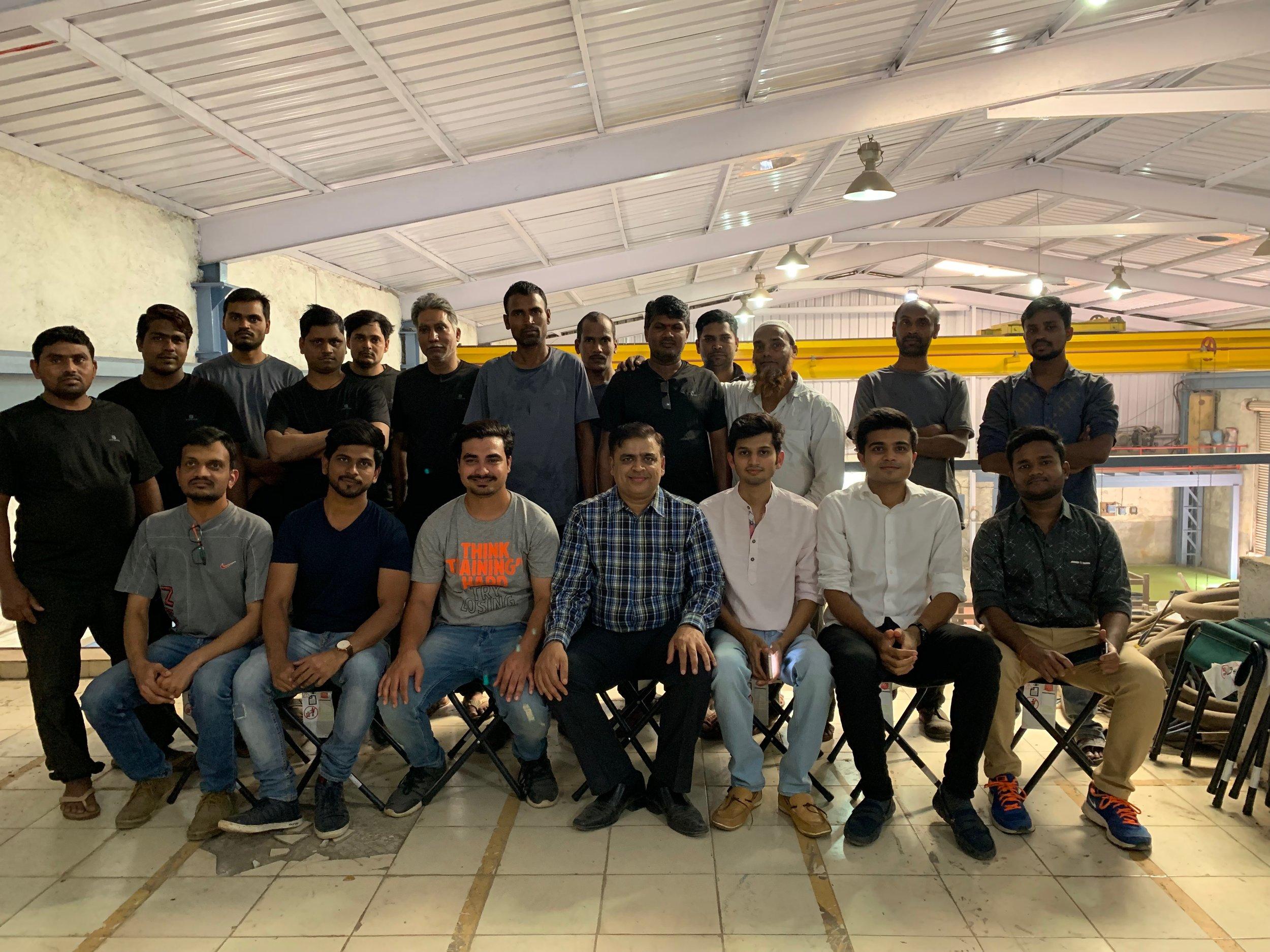 Machinecraft Team Photo - Jan 2019