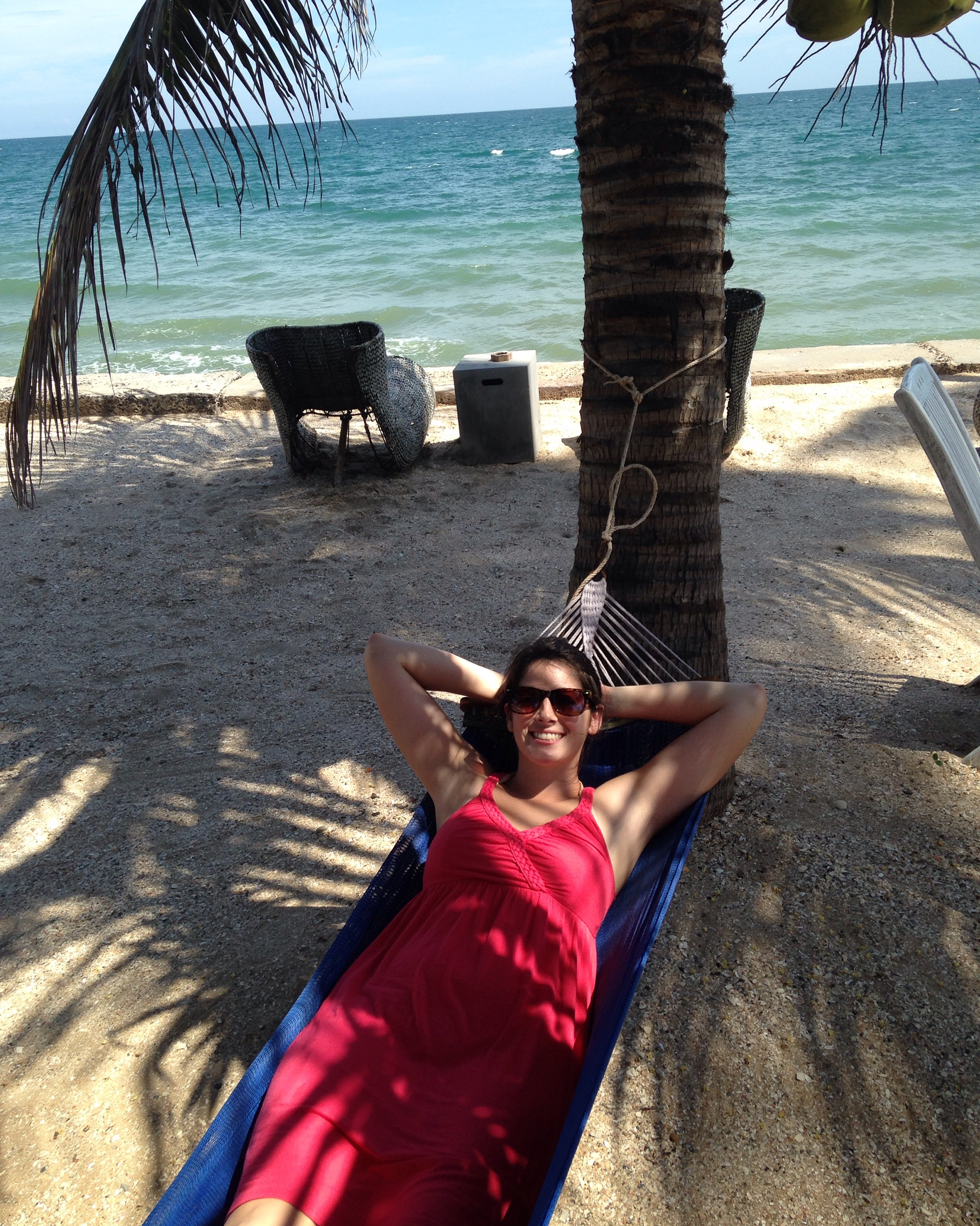 """This hammock in Mui Ne, Vietnam was the definition of """"awesome!"""""""