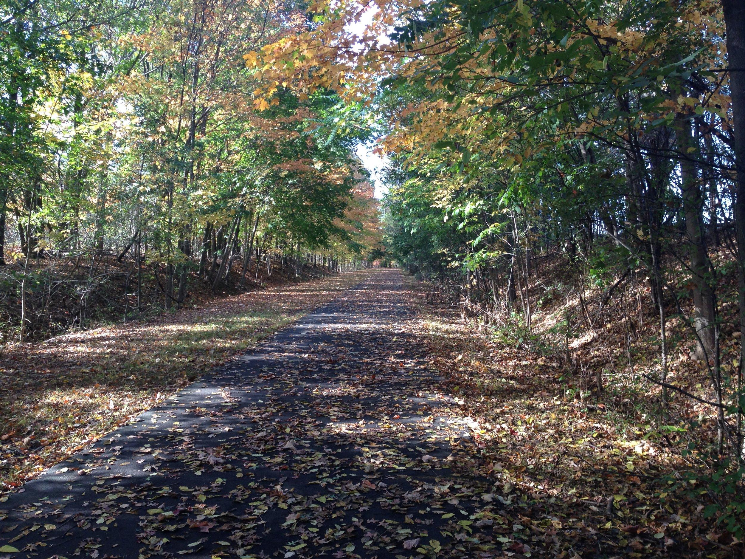 My favorite running trail in my hometown