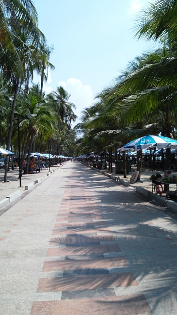 Bang Saen boardwalk