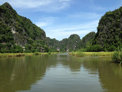 Ninh Binh, Vietnam-- one of my favorite places in the world!