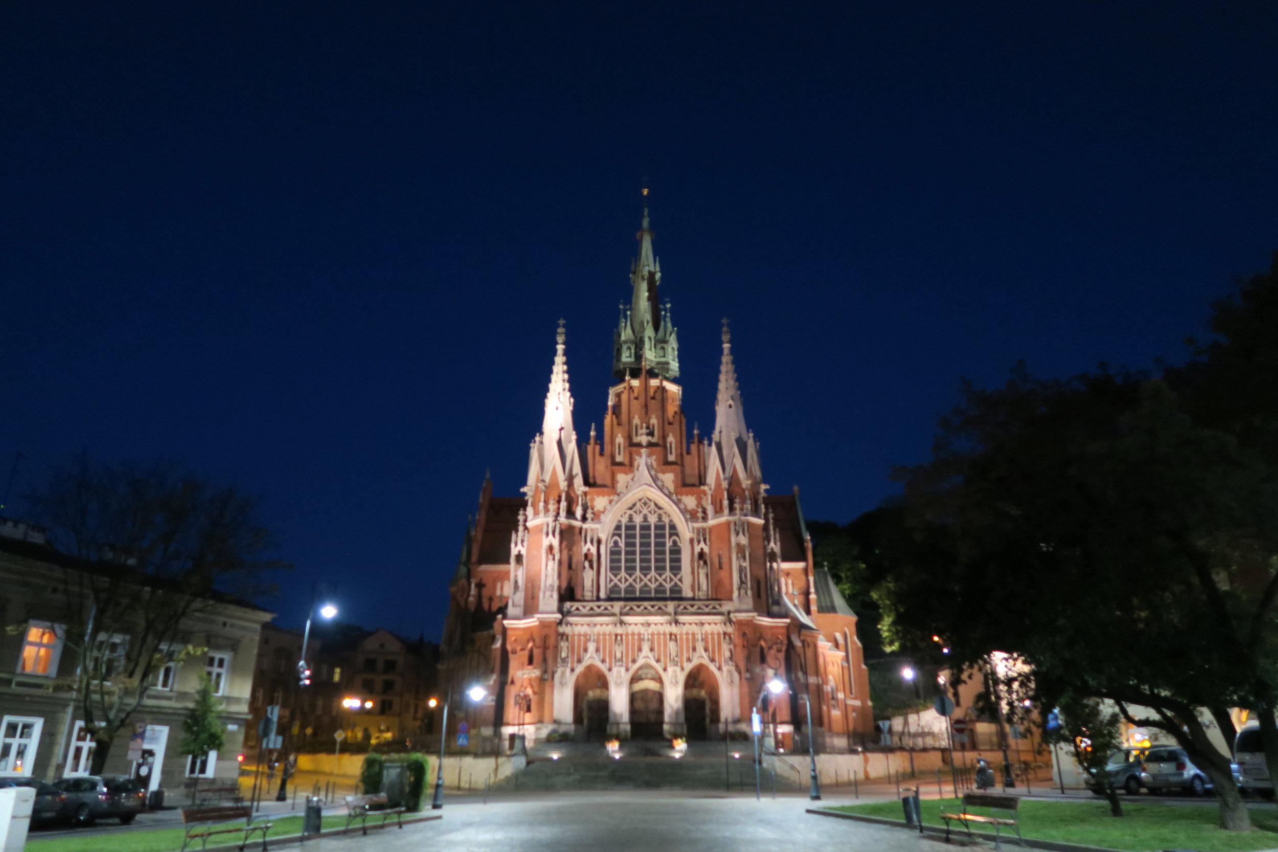 St Josephs Church, Krakow, Poland