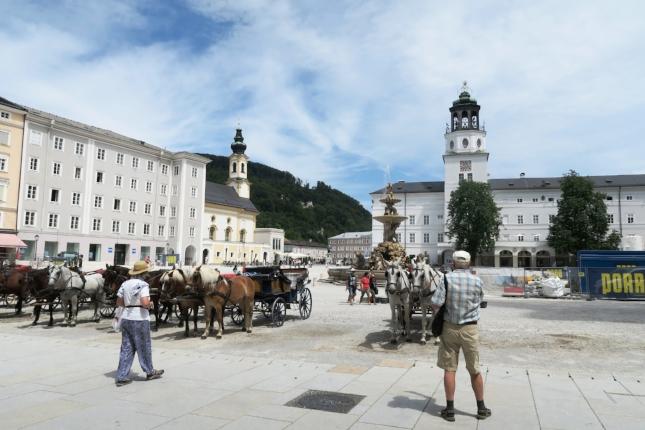 Residenzplatz, Salzburg, Austria