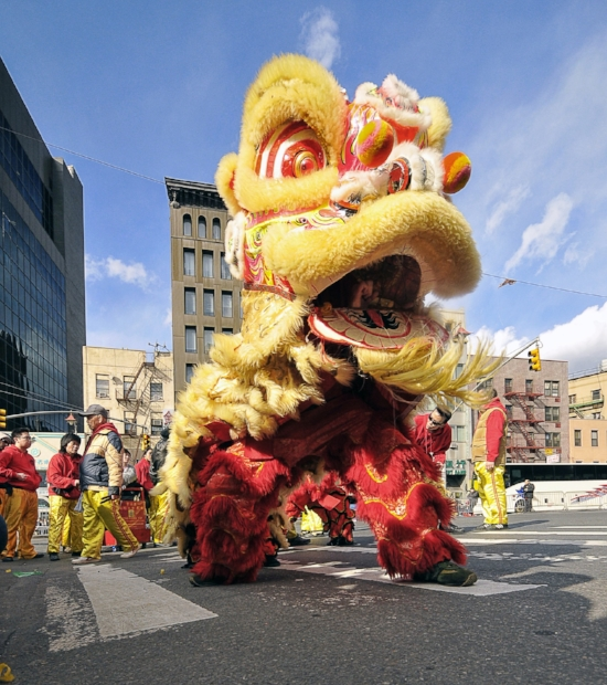 Lion Dance in China