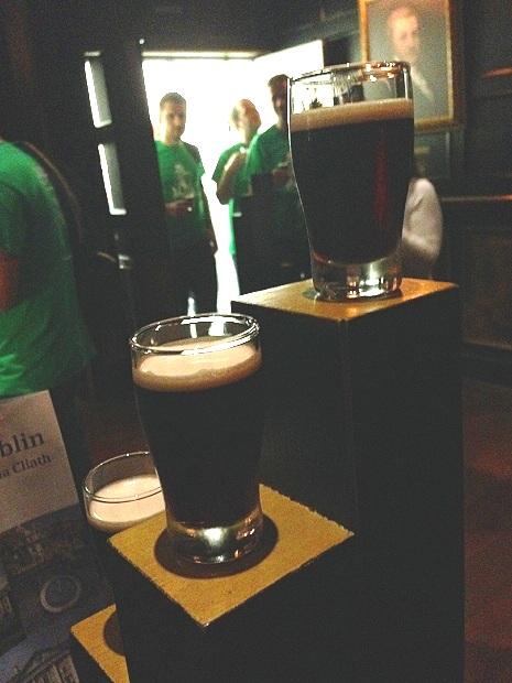Guinness Shots in Tasting Room Guinness Factory
