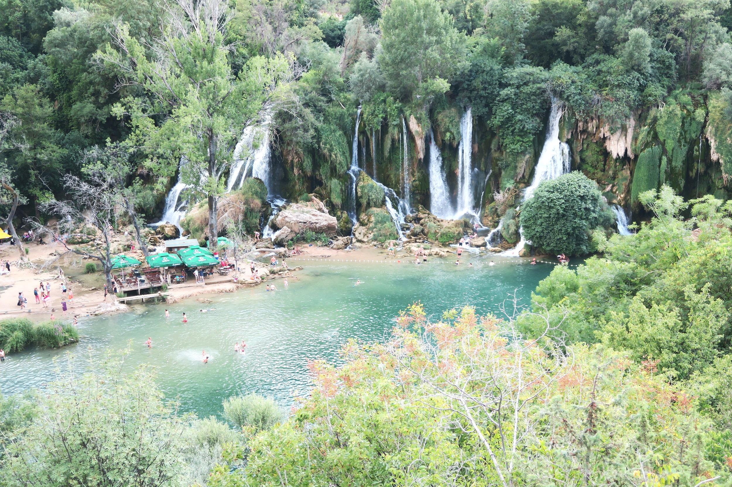 Kravice Falls in Mostar, Bosnia and Herzegovina