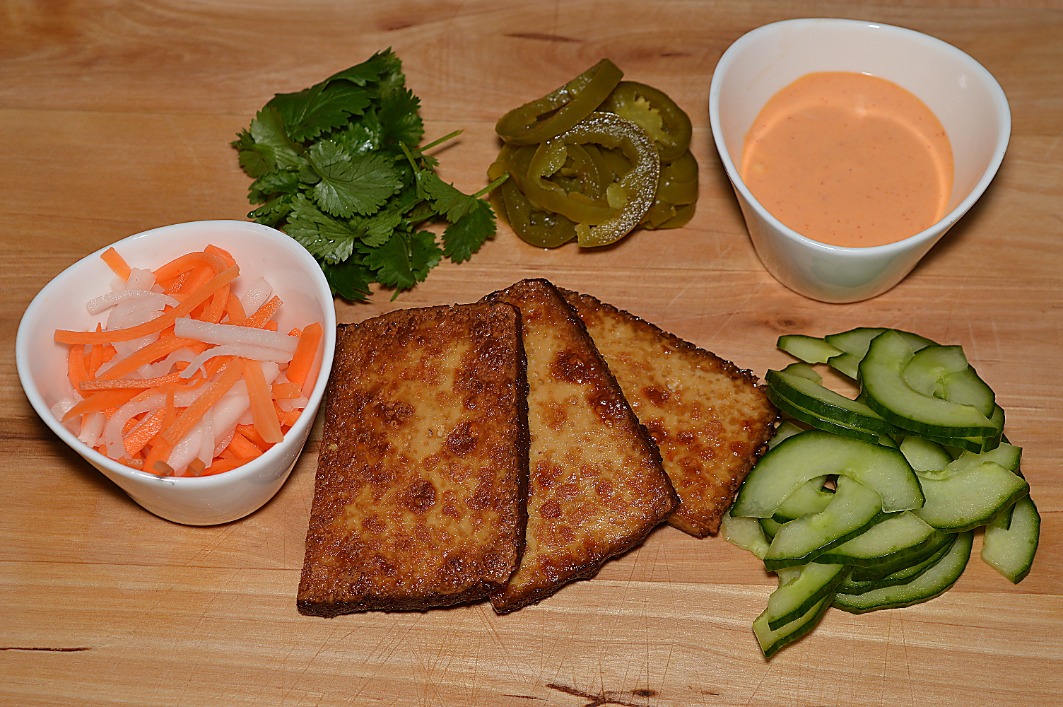 Ingredienser Banh mi