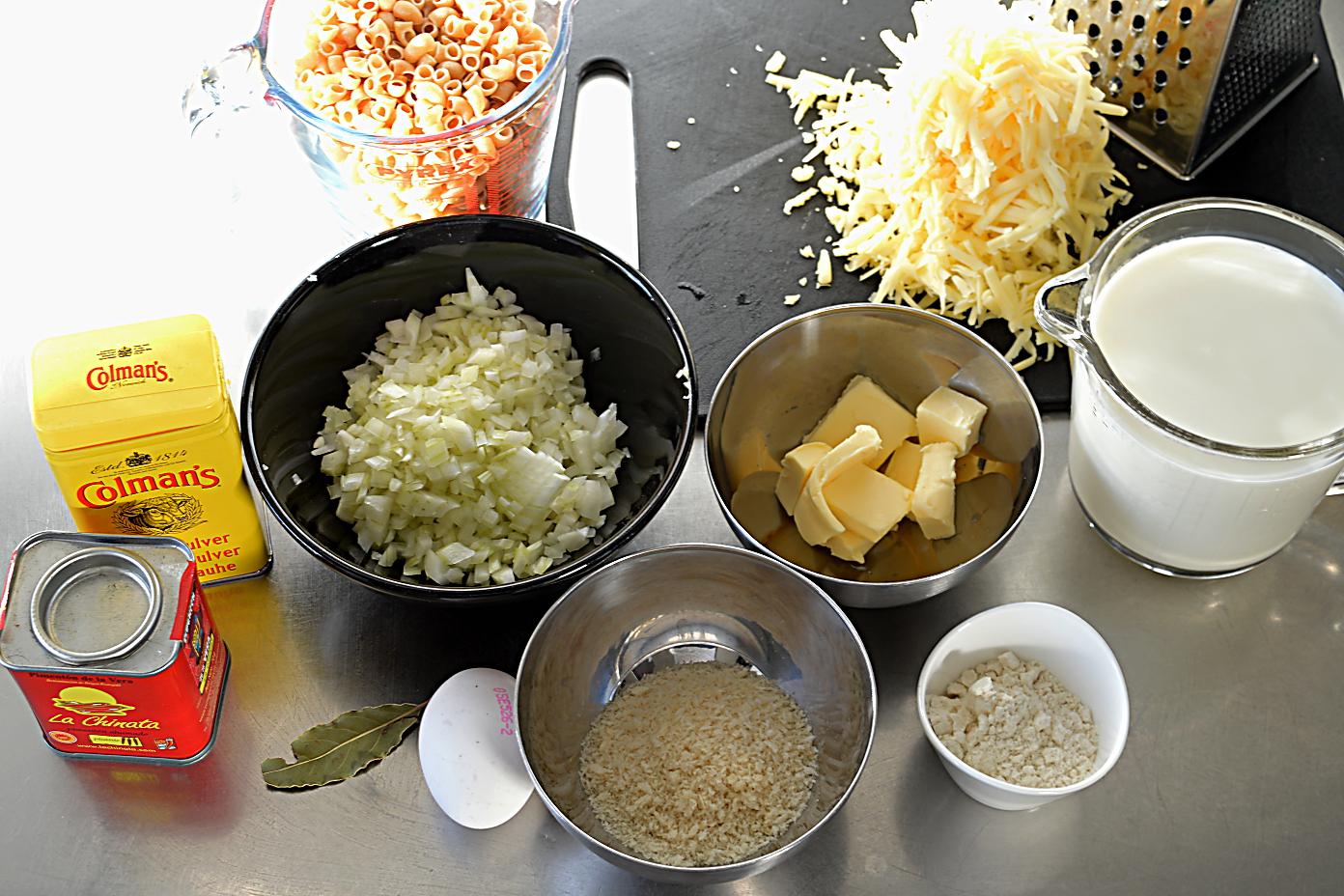 macncheese ingredienser