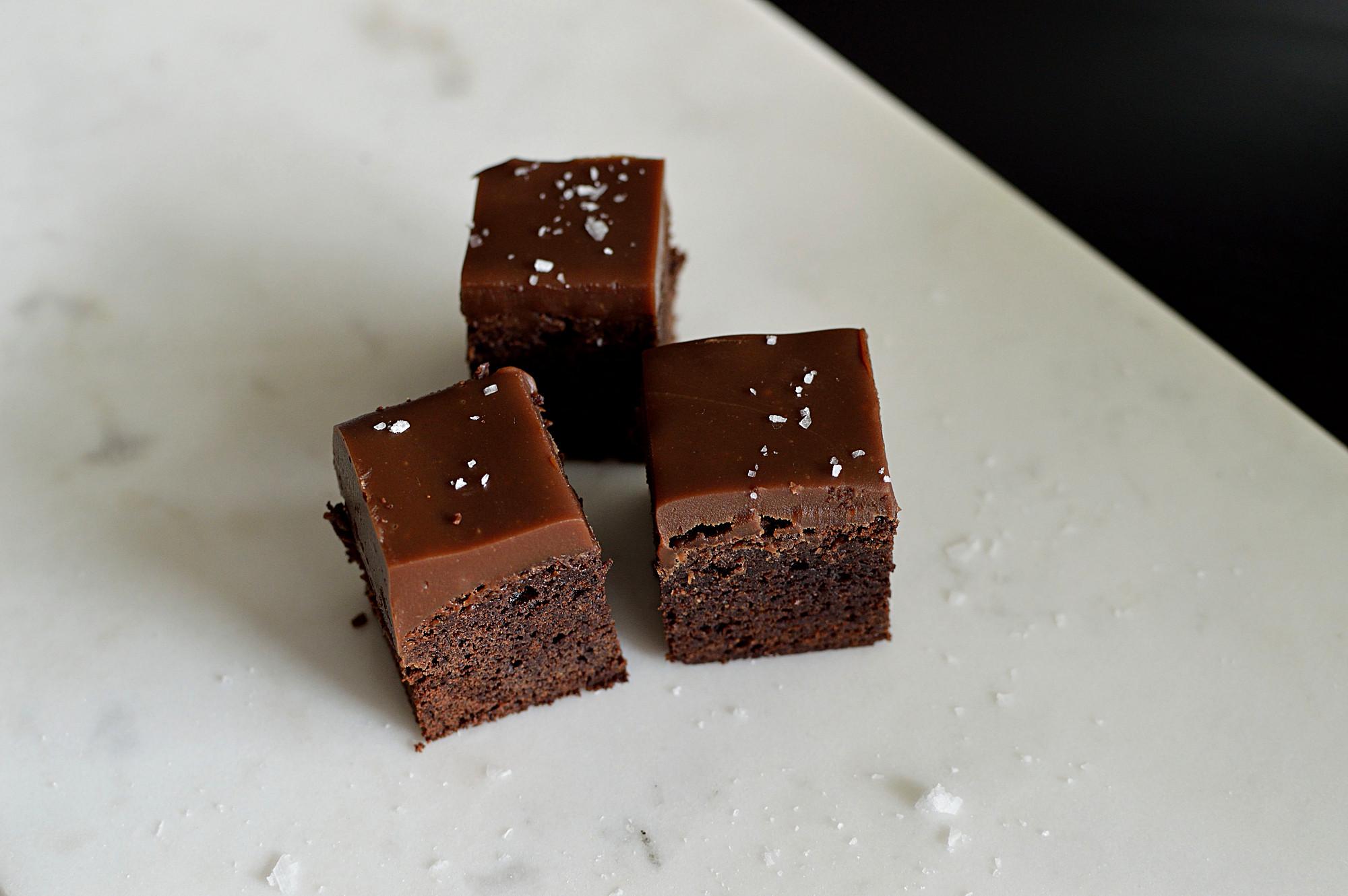brownies med tryffel