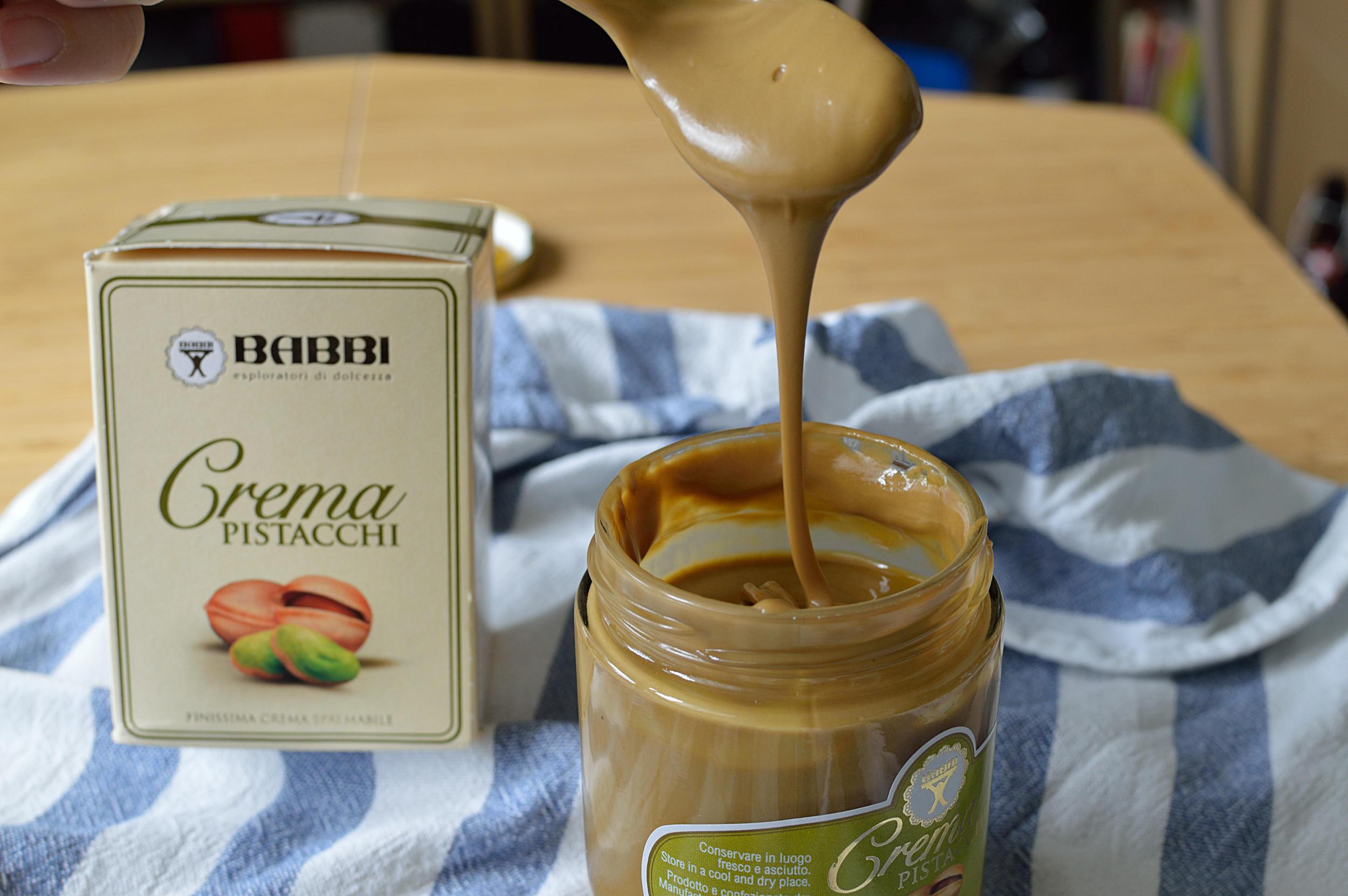 En bruk pistachkräm