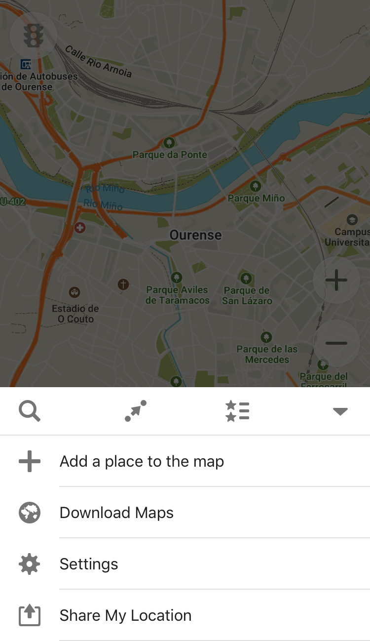 Make sure to download your maps.