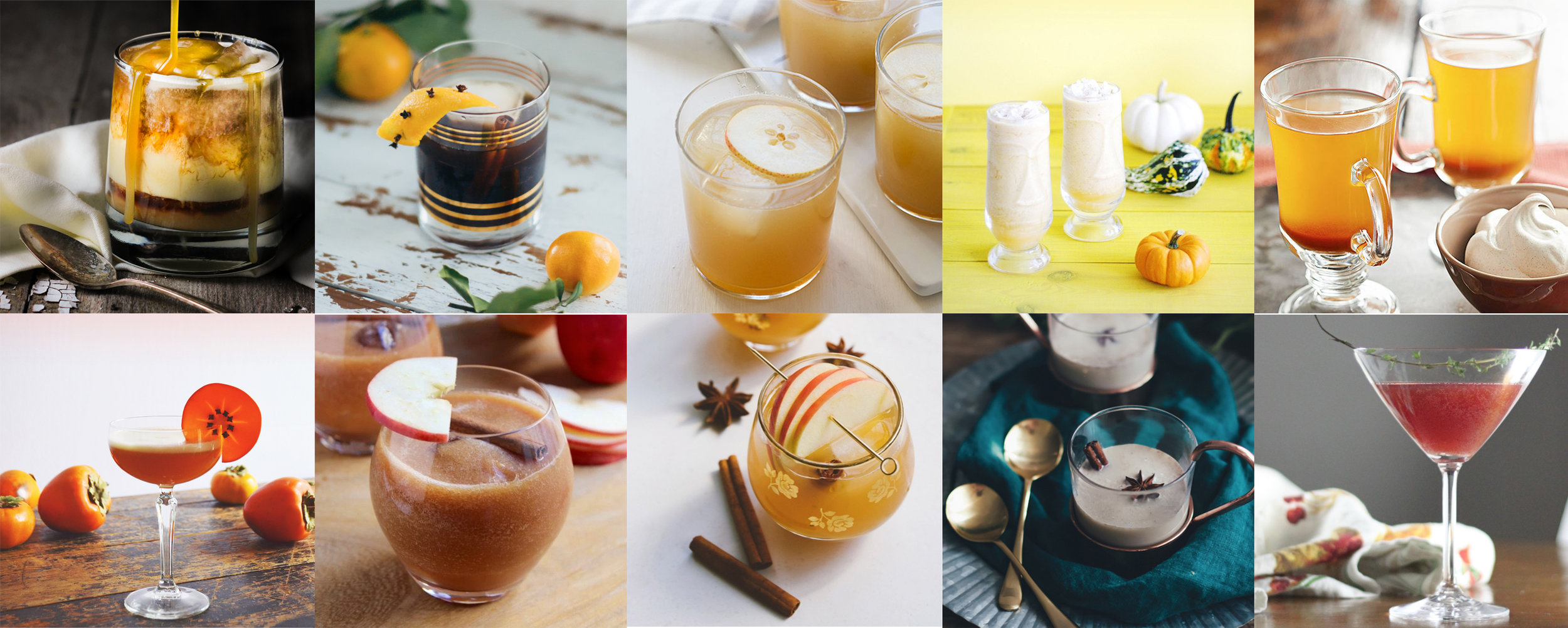 10 Boozy Thanksgiving Cocktails | Drinkingwithchickens.com for BHG.com
