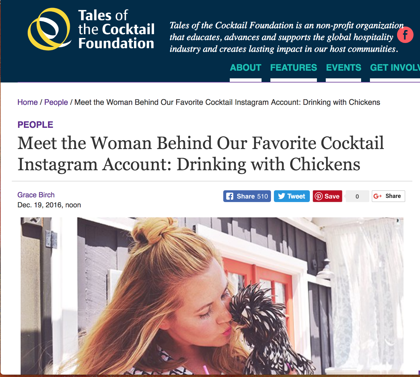 Tales of the Cocktail Interview |   Click here to read...