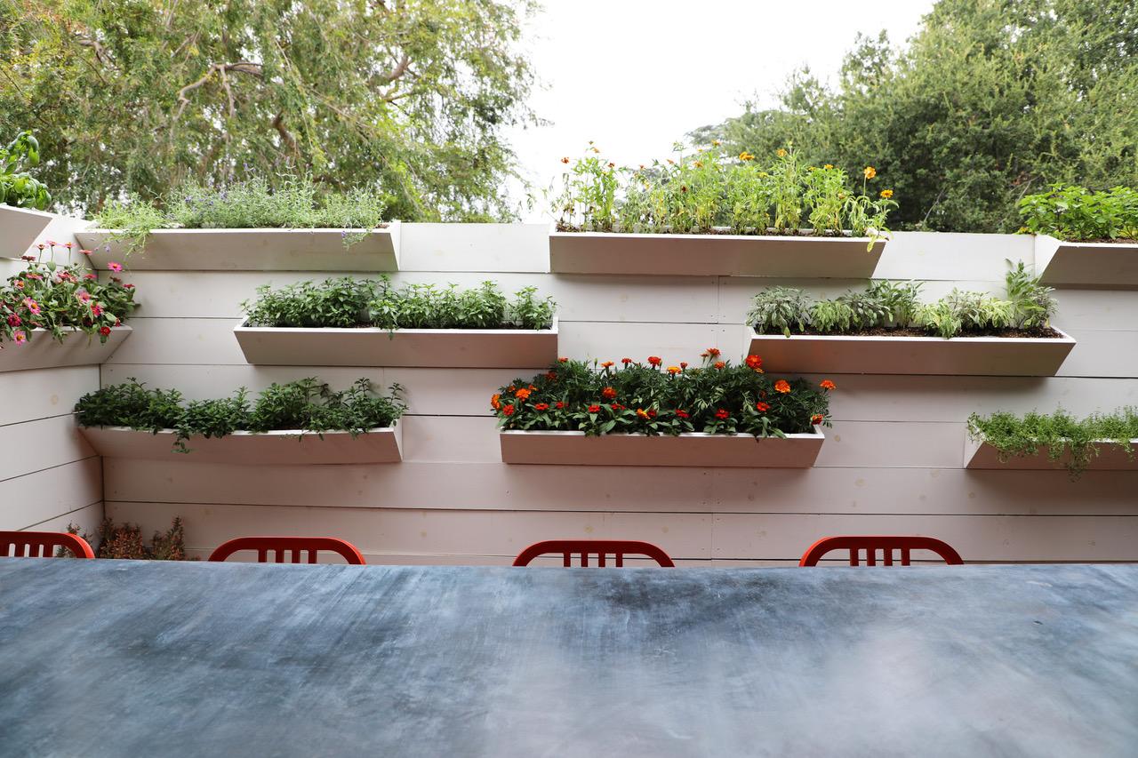 The Vertical Cocktail Ingredient Garden.