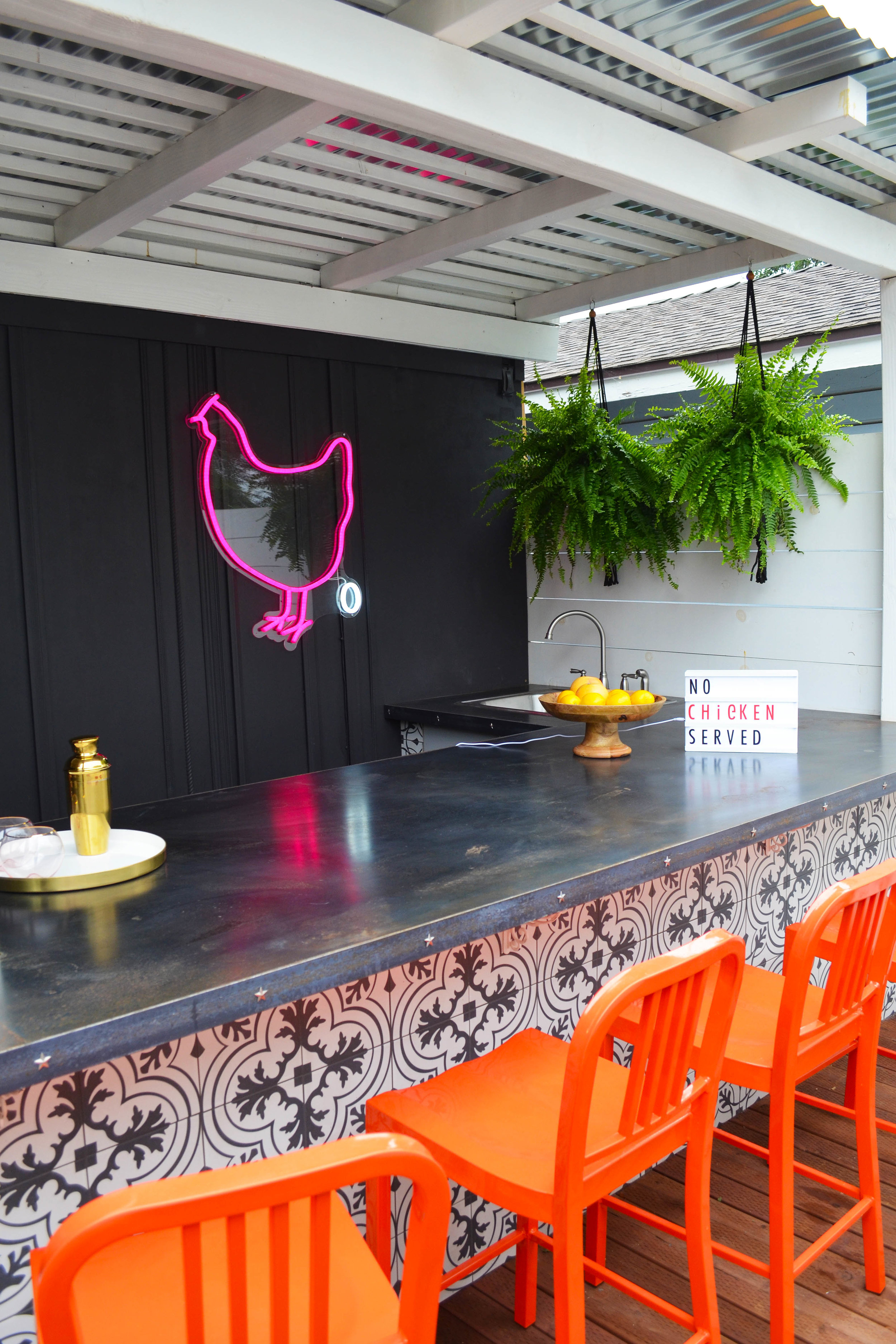 Just your typical, everyday outdoor bar.