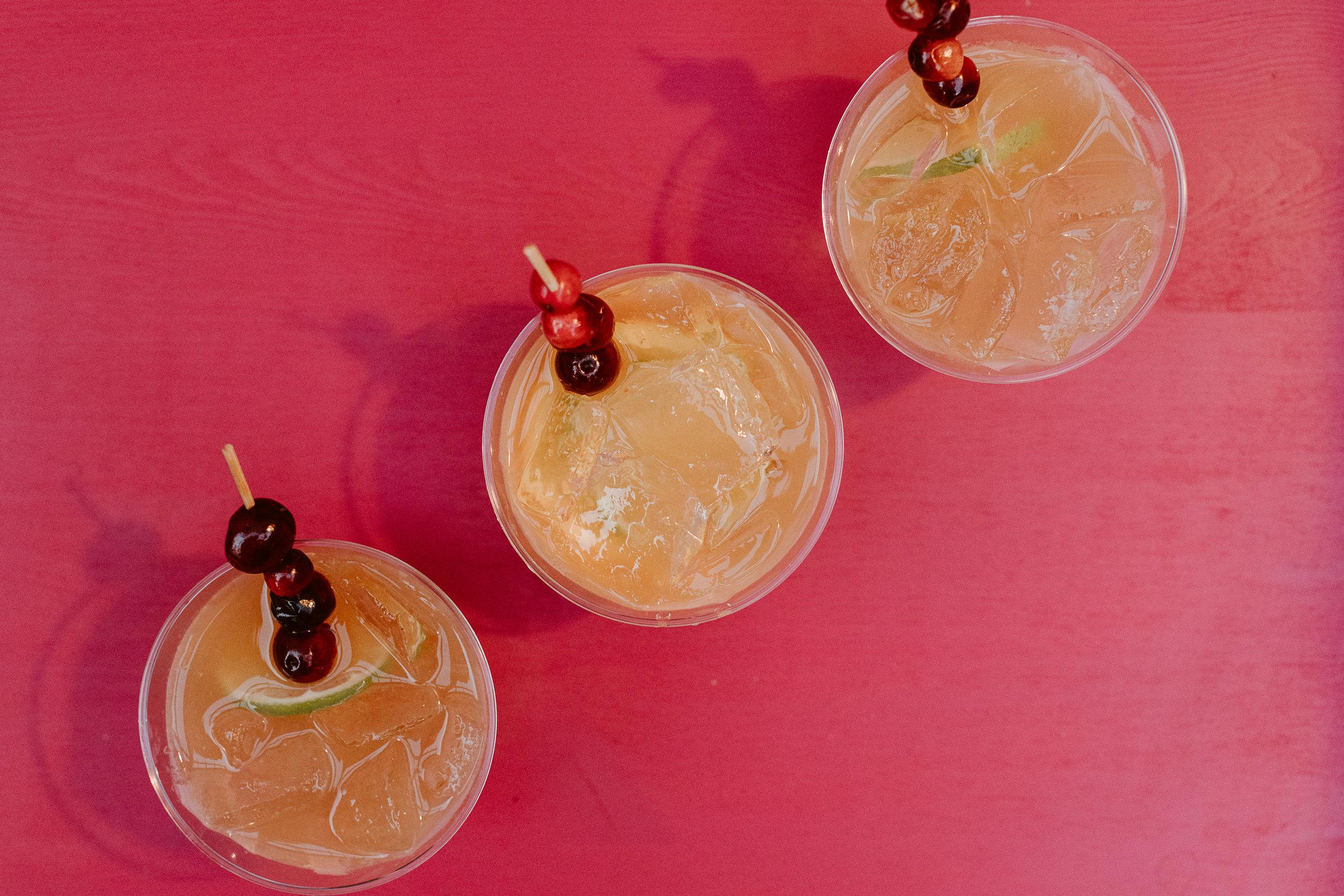 Holiday mai tai's courtesy of Havana Club Rum | drinkingwithchickens.com