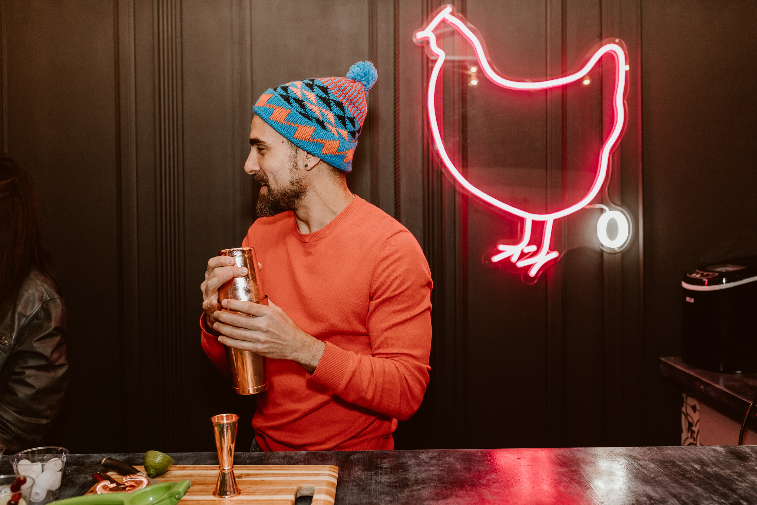 Holiday Tiki Party with Havana Club Rum | drinkingwithchickens.com