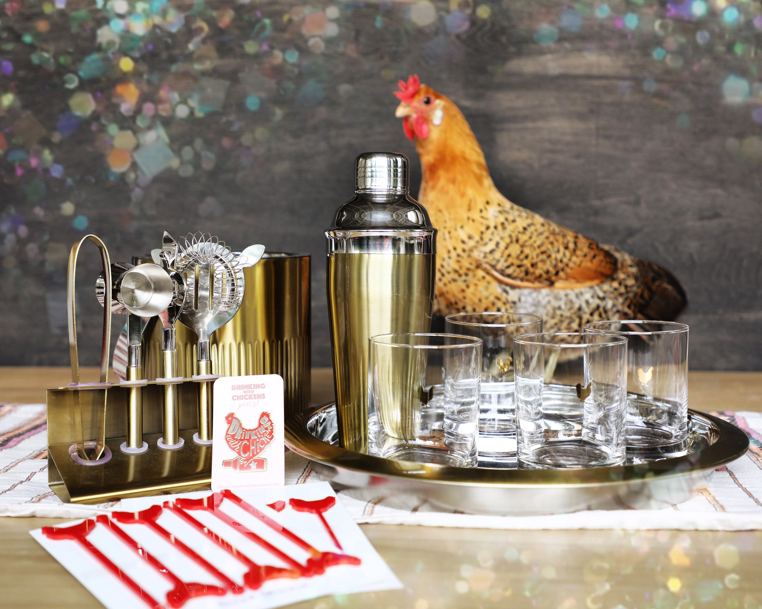 National Drinking with Chickens Day giveaway | drinkingwithchickens.com