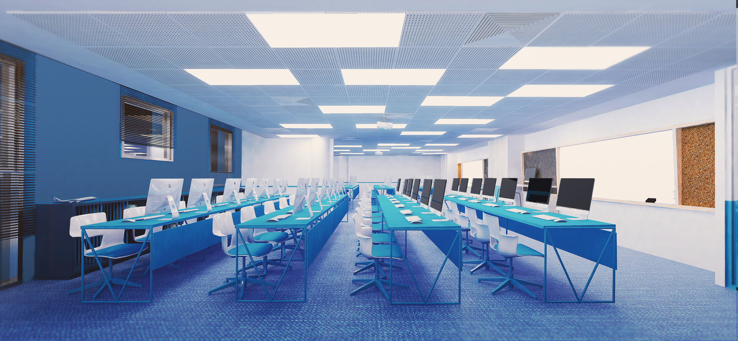TRAINING CENTER |  Gila Shemie Zakay Interior Design