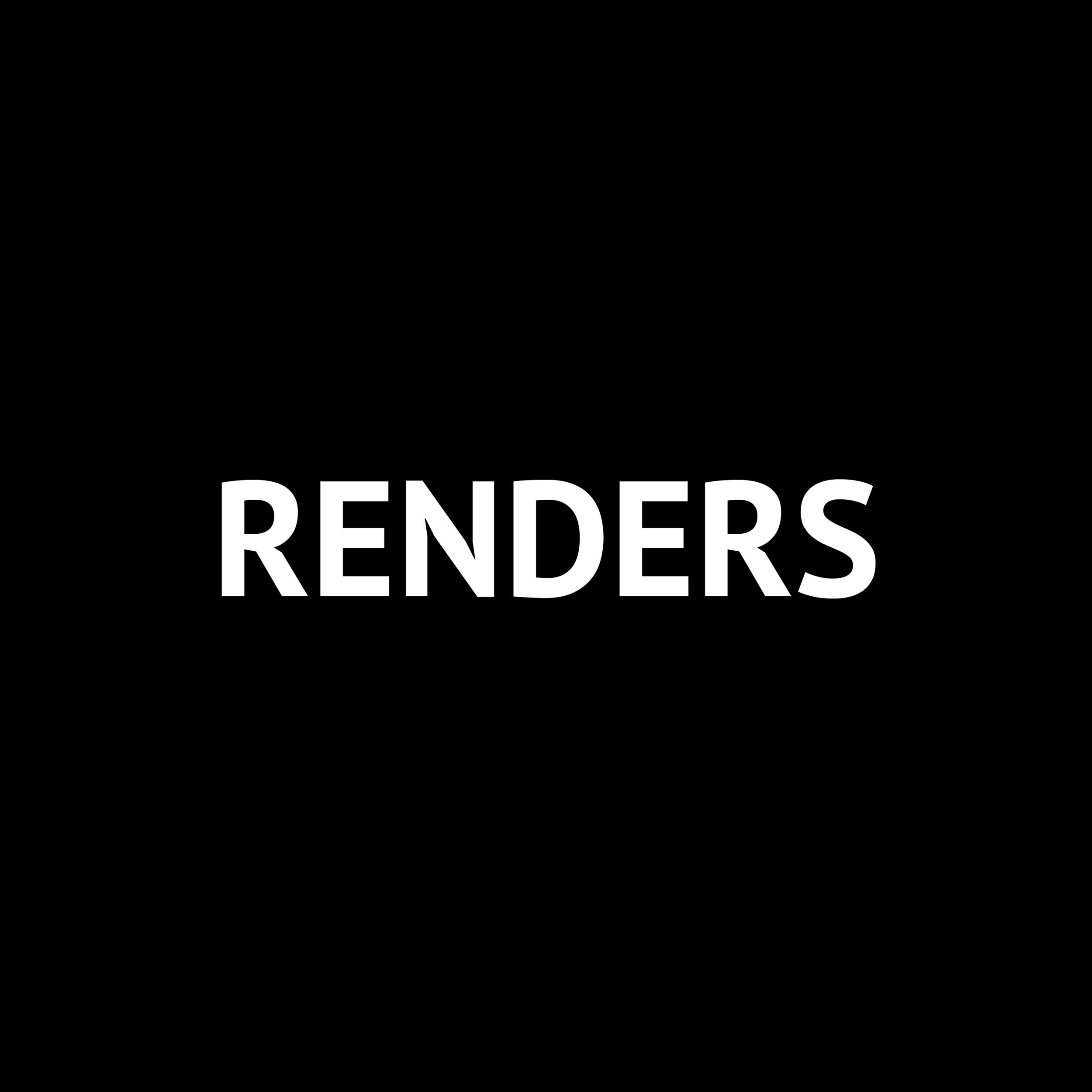 RENDERS |  Bre.