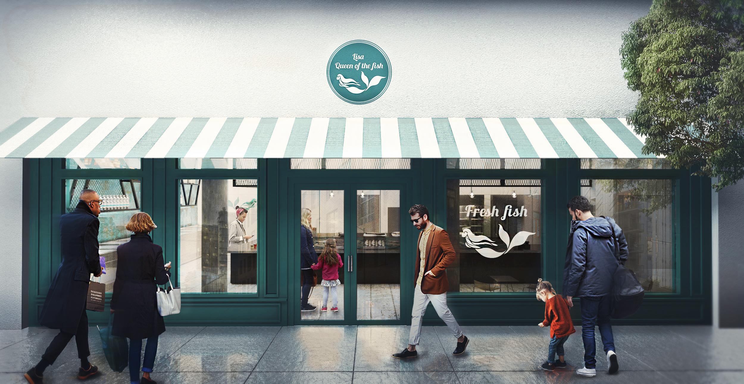 LISA QUEEN OF THE FISH |  Gila Shemie Zakay Interior Design