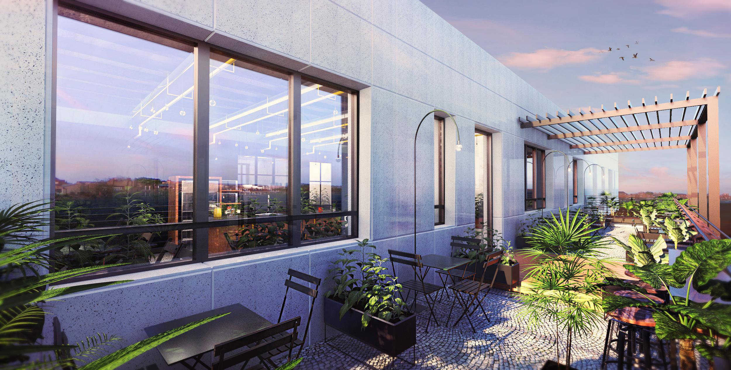 THE BLUE OFFICE |  Gila Shemie Zakay Interior Design