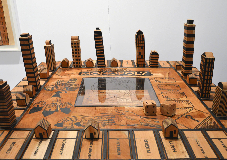 """""""Visa Monopoly""""  de  Abel Barroso  en la Galería  Michel Soskine Inc."""