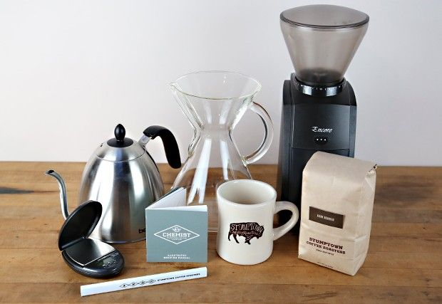 Stumptown Coffee Chemist Gift Set $255