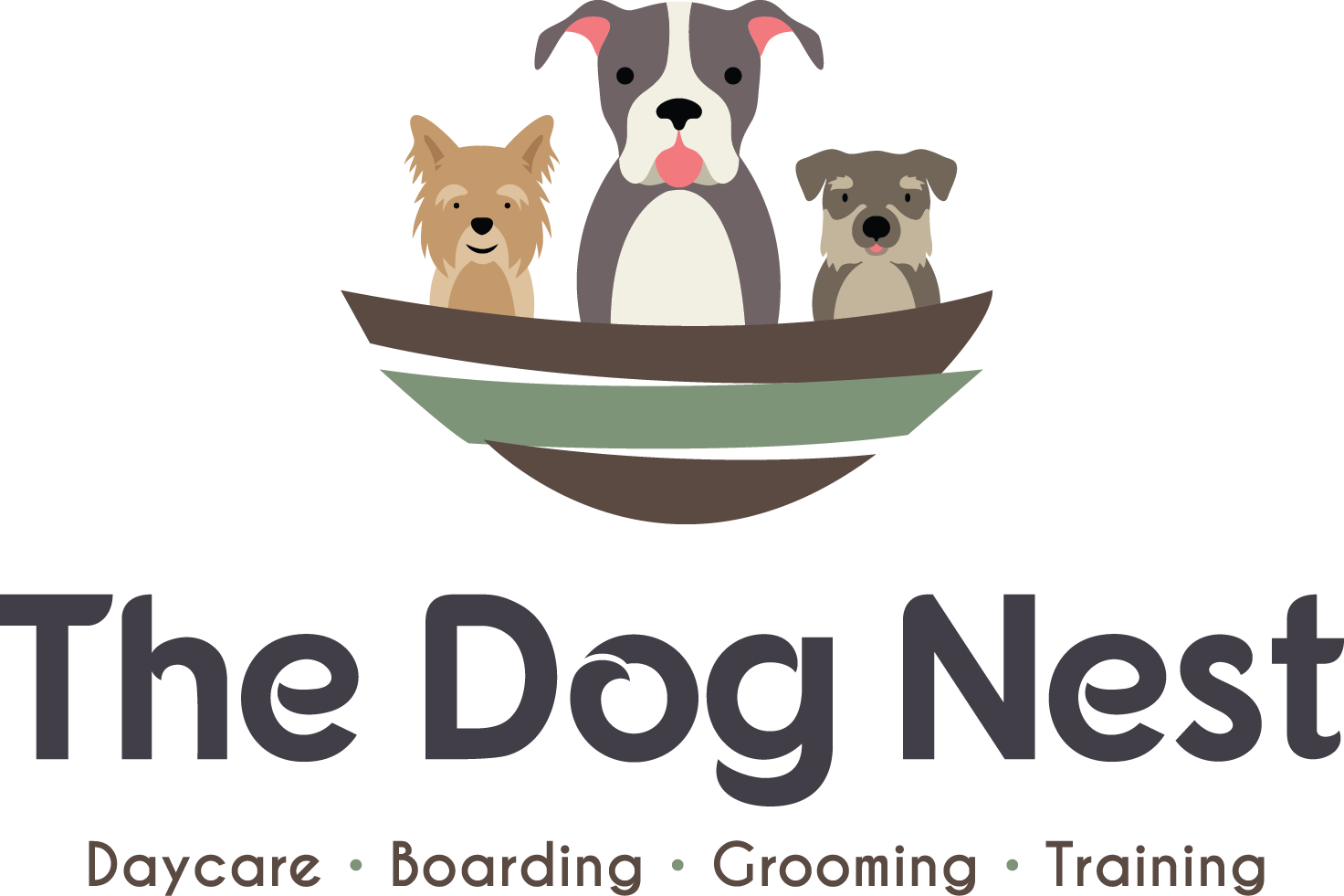 The-Dog-Nest-Brookfield-Doggy-Daycare-Boarding-Grooming-Training-Logo