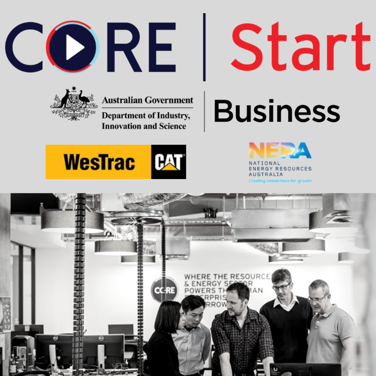CORE Innovation Hub members at Australia's first co-working, collaboration and innovation hub focused on the resources industry.
