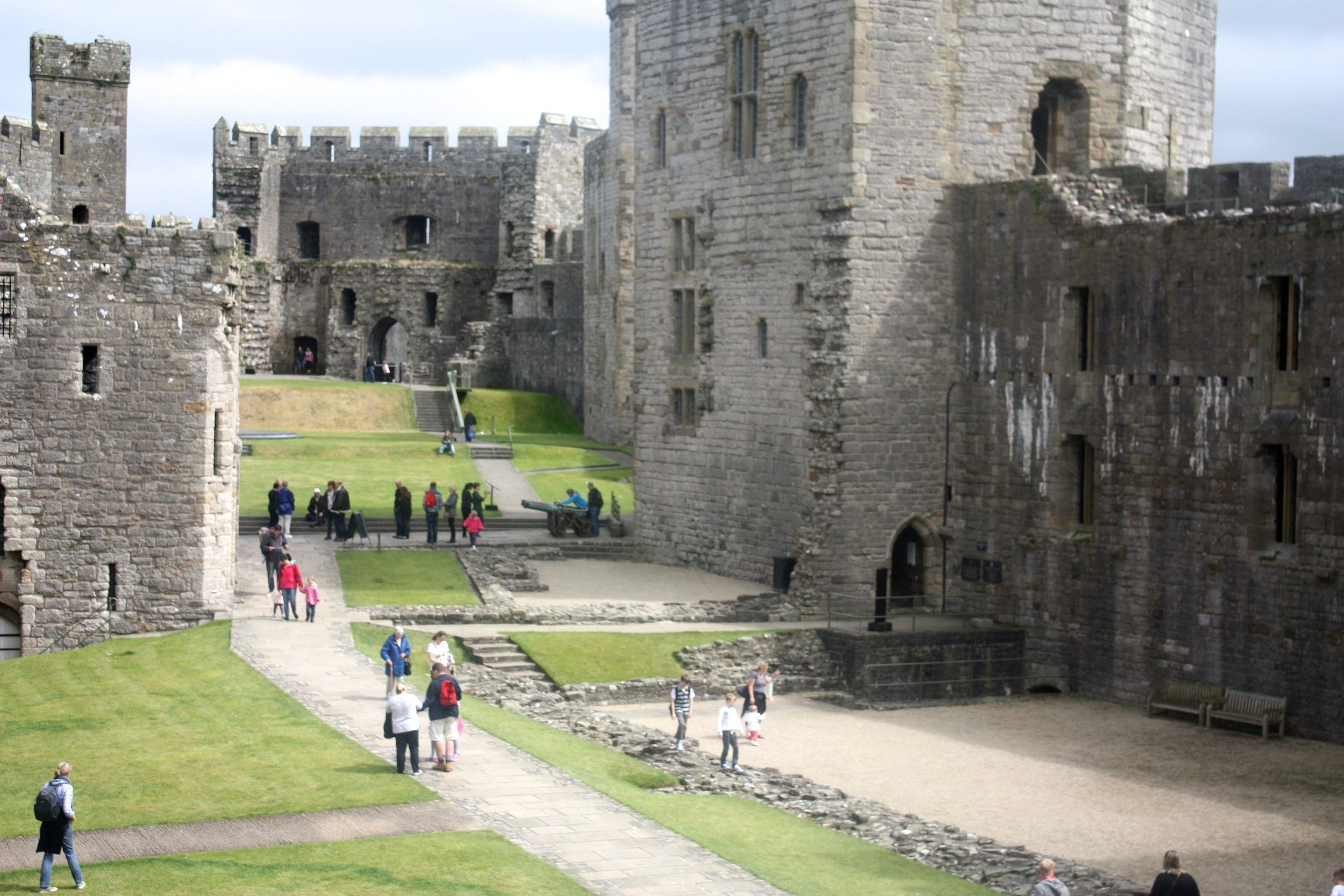 This castle was built by Edward I