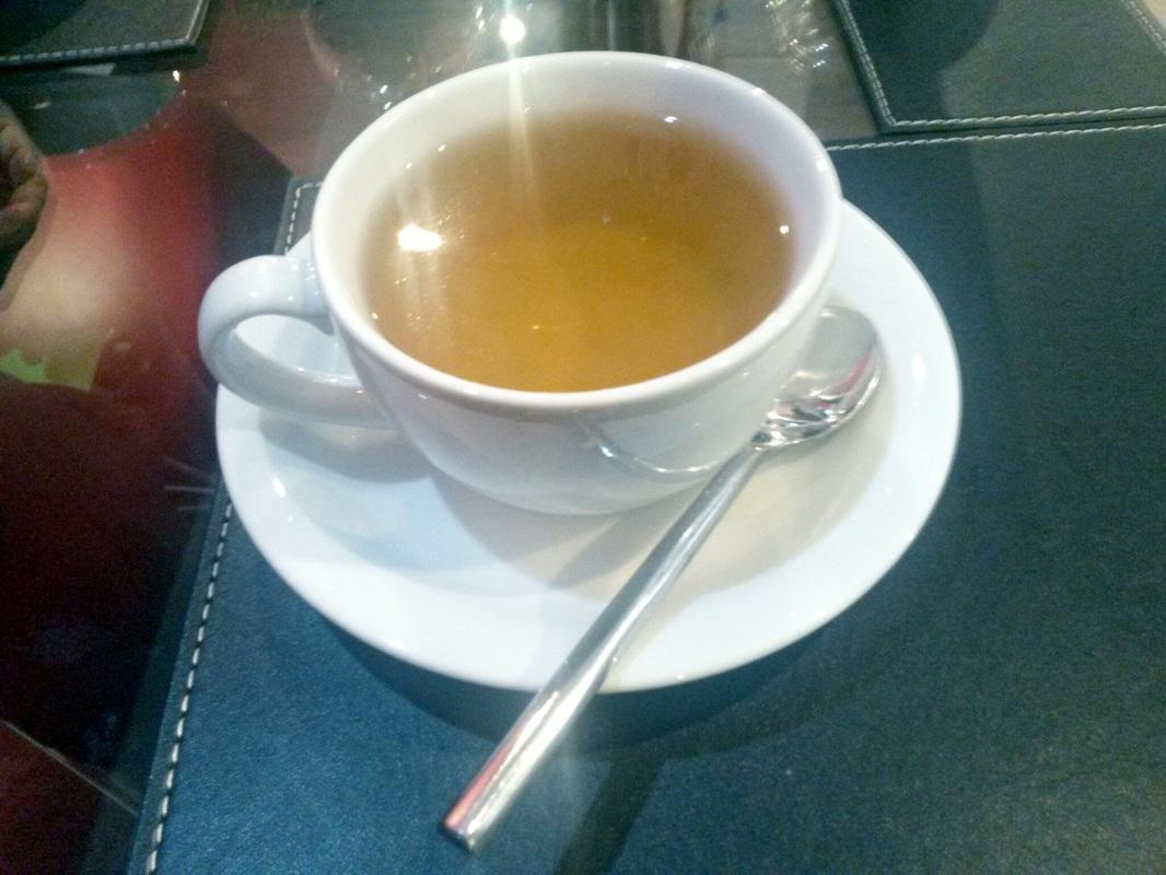 A good ol' cuppa peppermint tea