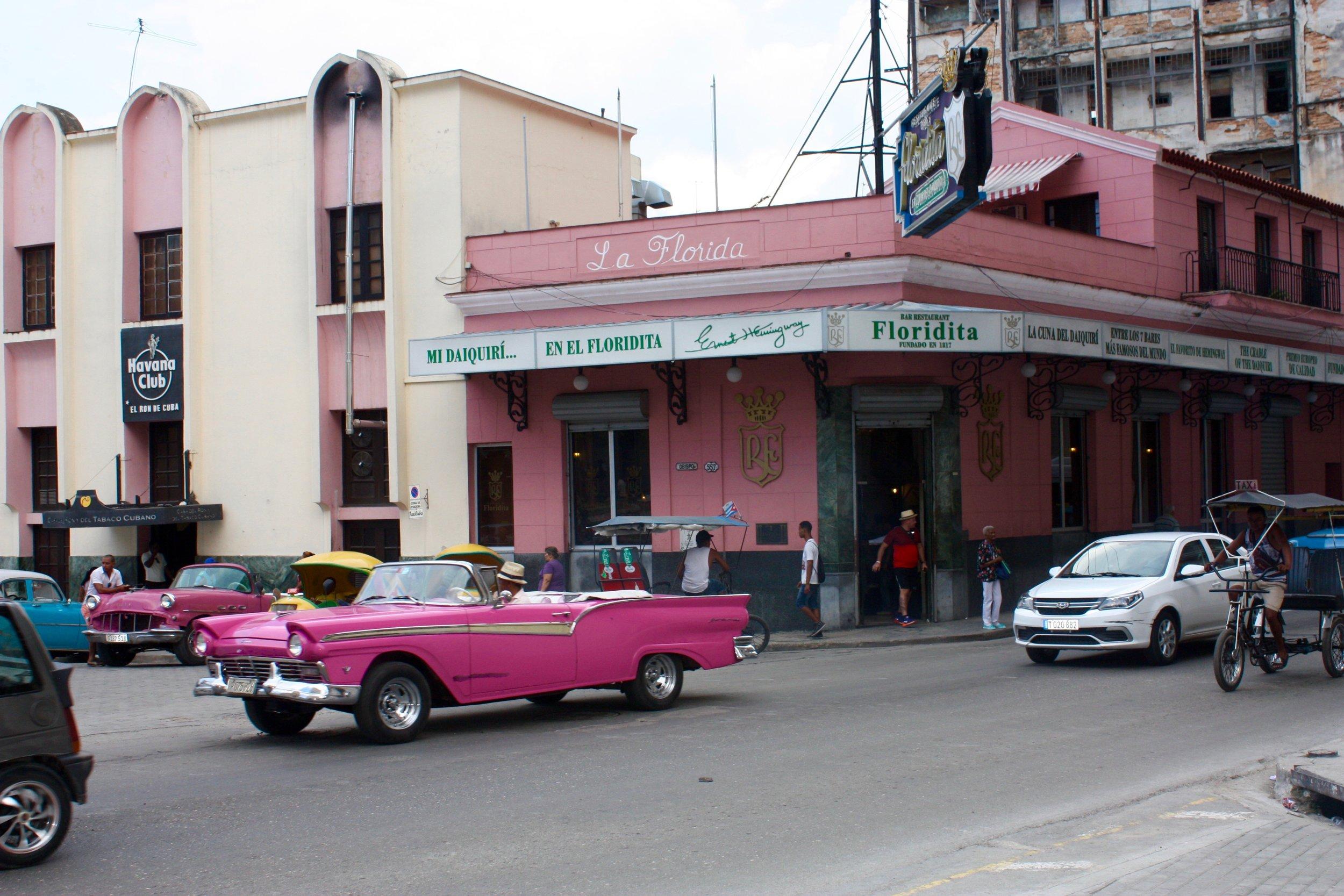 El Floridita, Cuba