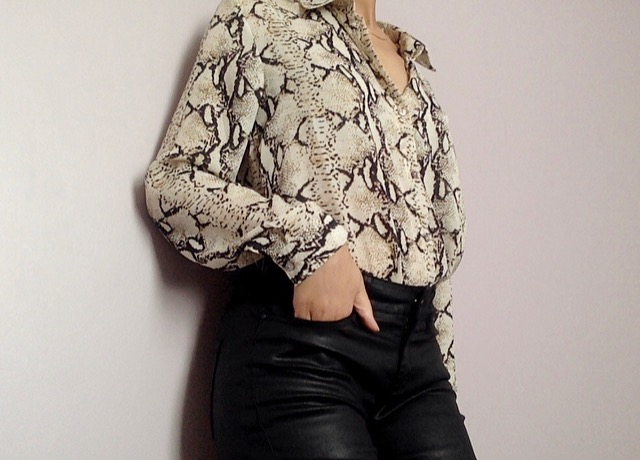 How To Find Your Tribe     OUTFIT DETAILS: Blouse (   similar   )/ Faux leather jeans (   similar   )