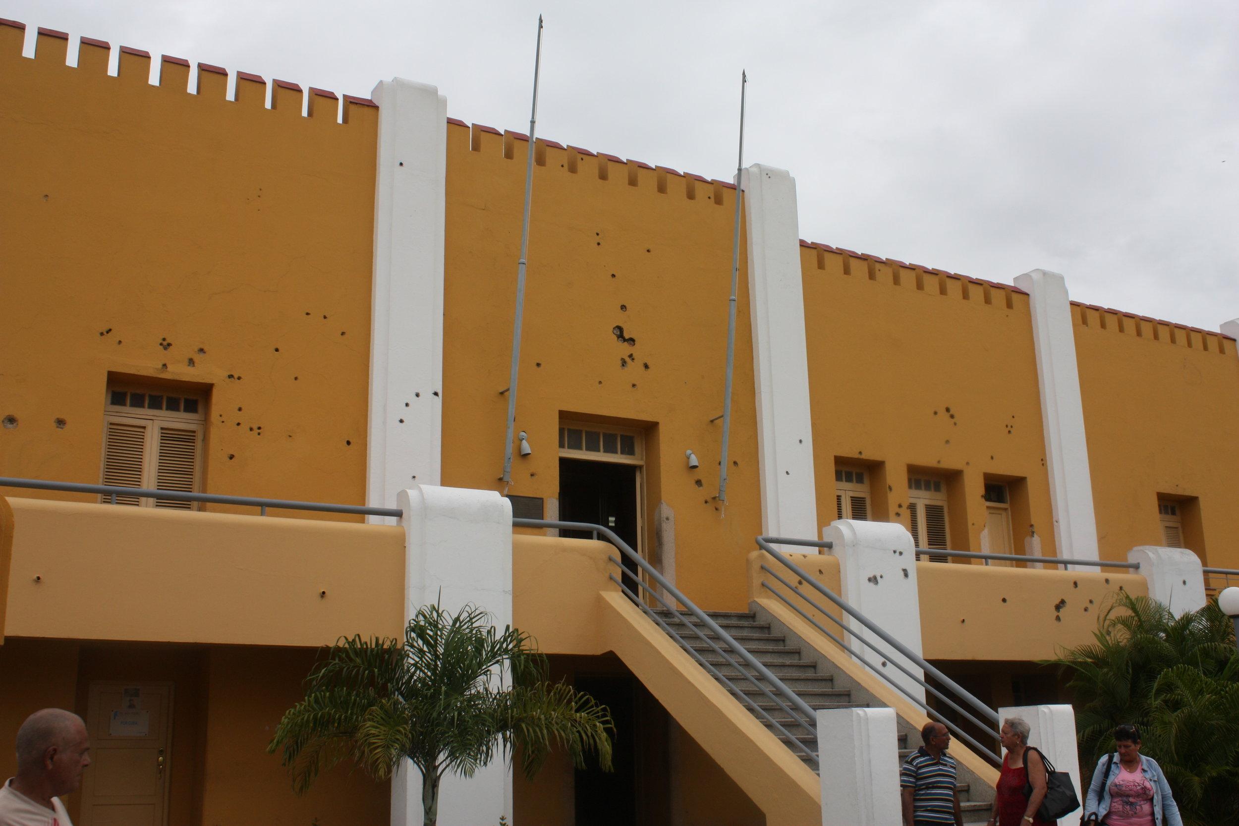 Moncada Barracks, Santiago, Cuba