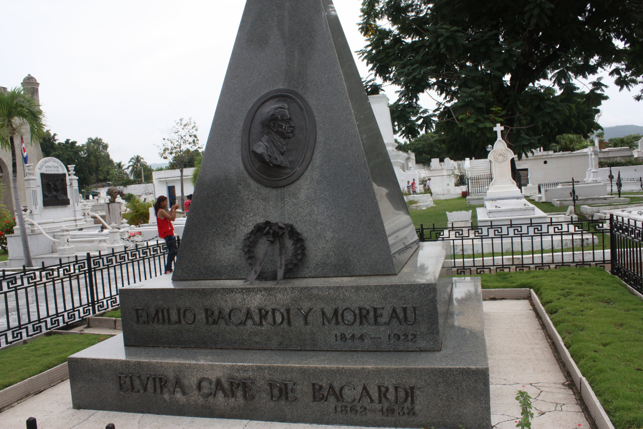 Santa Ifigenia Cemetery, Santiago, Cuba