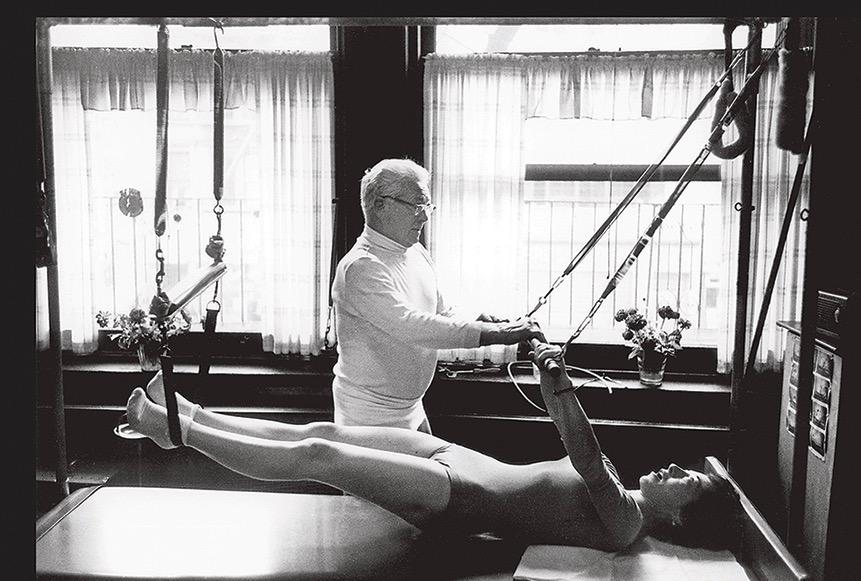 Joseph Pilates and Romana Kryzanowska