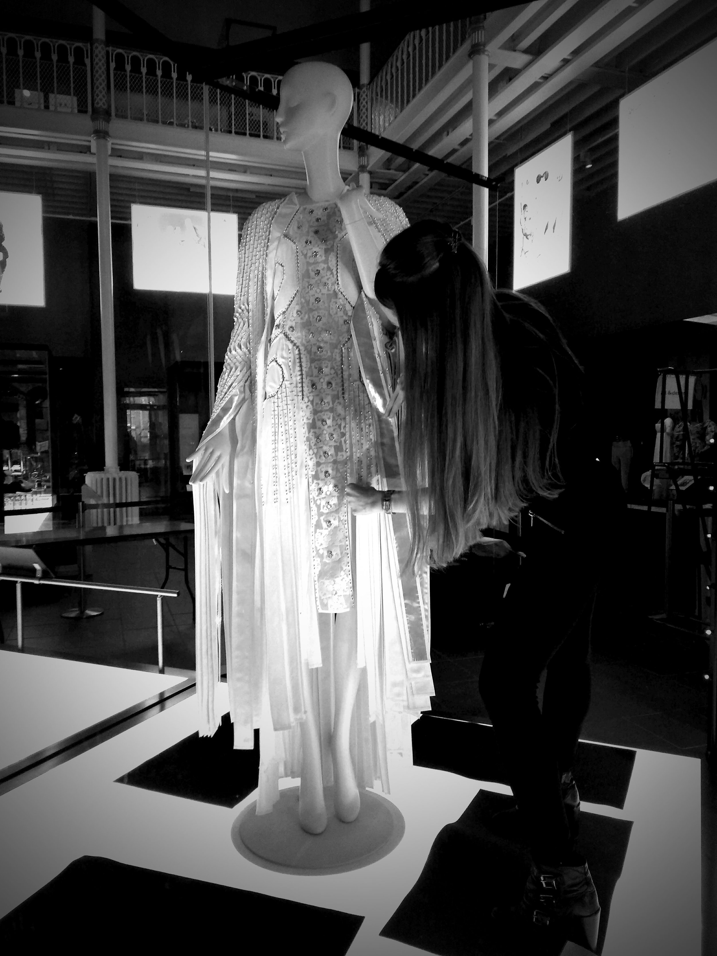 The Installation of The Florentine Dress at The National Museum of Scotland, June 2018.