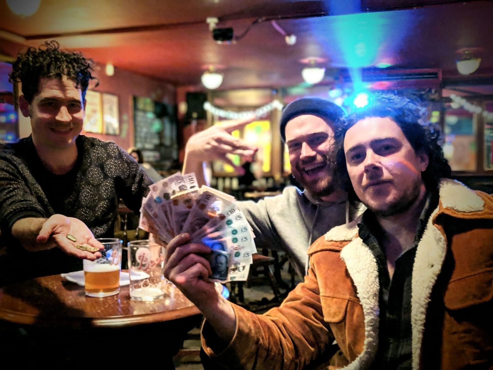 Compasses pub quiz winners.JPG