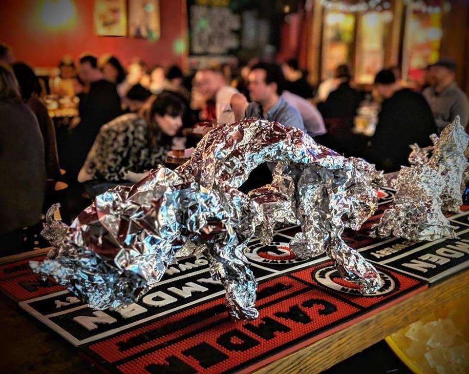Pub quiz tin foil and room.jpg
