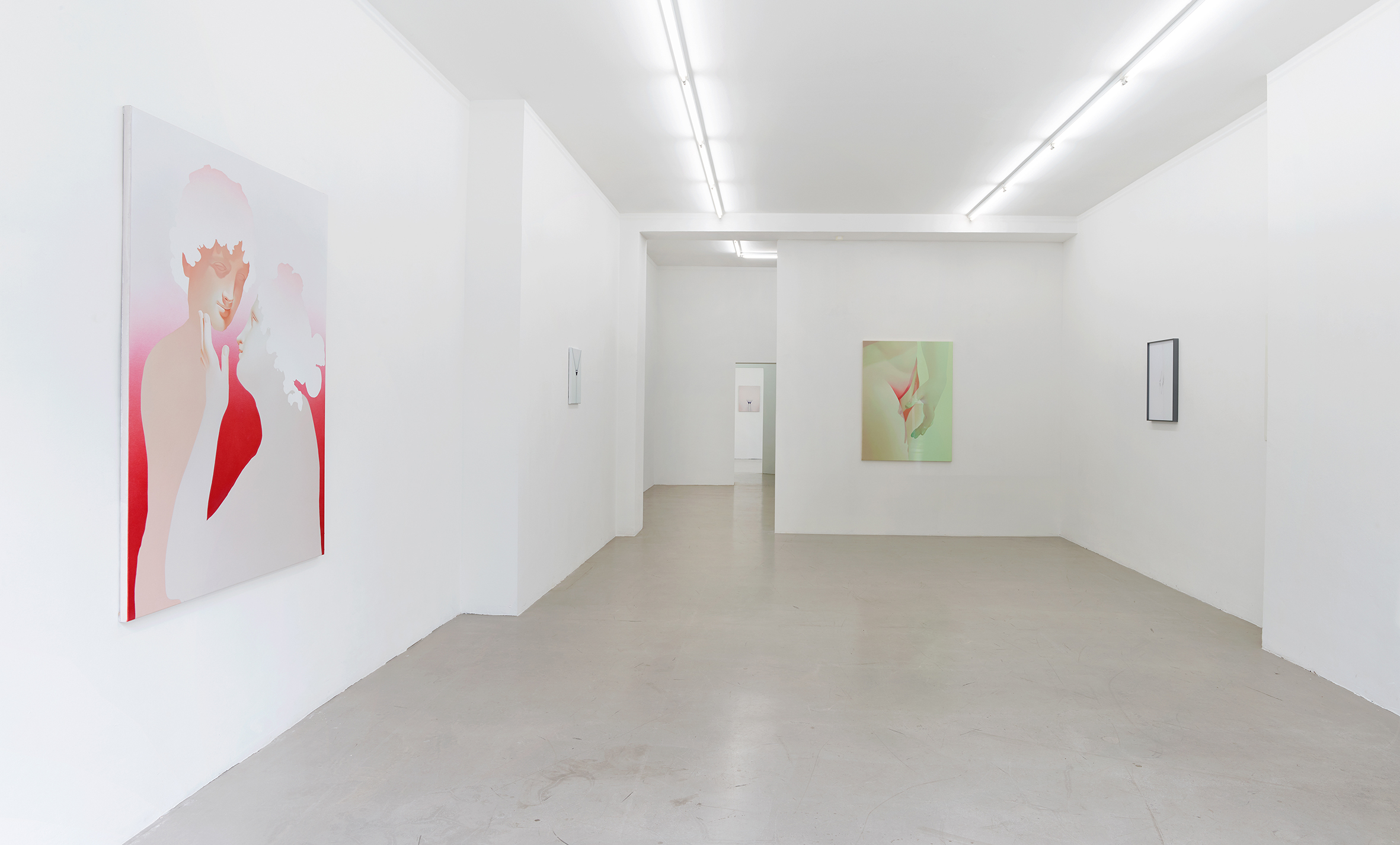 installation view:  0V , Kadel Willborn, Düsseldorf, 2019  Foto: Simon Vogel