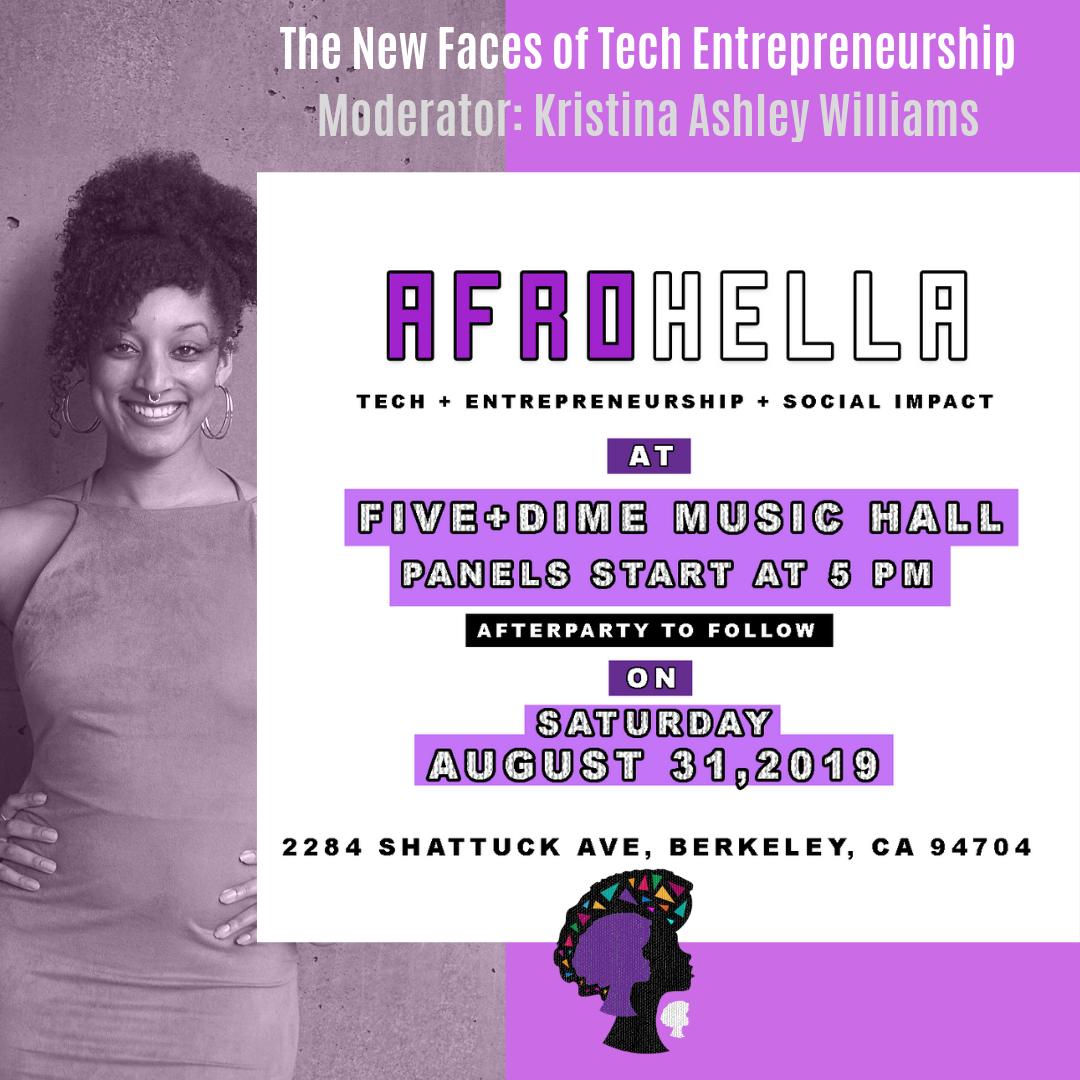 AfroHella    The New Faces of Entrepreneurship   Oakland, CA   2019