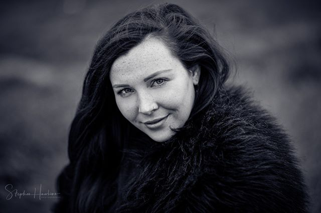 From my first encounter what seems like an age ago, with @bellerosemodel ... lovely day shooting despite the wind and rain.  #blackandwhitephotography #portraitphotography #naturallight #freckles #headshots #essexmodel #lovelyhuman #canon1dxmarkii #fluffycoat #winterfashion