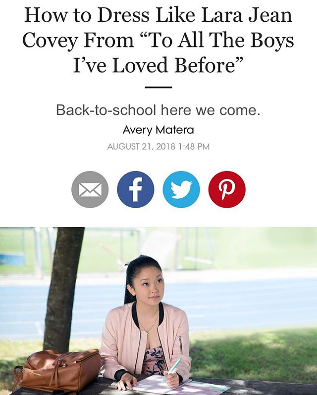Every outfit in this movie is amazing and the movie is amazing and I am still smiling and 💕💕💕💕💕💕💕💕💕💕💕💕💕 #toalltheboysivelovedbefore #cardigans #overalls #thoseplatformcombatbootswiththesocks #thatpinkcoat @jennyhan