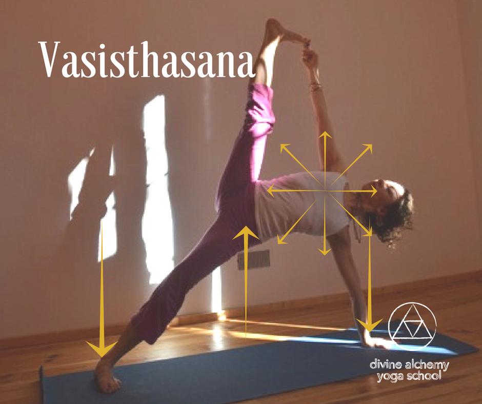Mira Jamadi Vasisthasana Divine Alchemy Yoga School