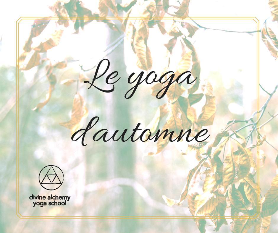 Le yoga d'automne